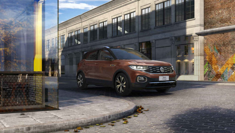 Volkswagen presentó el nuevo T-Cross en México