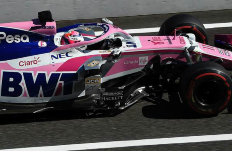 Sergio Pérez listo para el Gran Premio de México