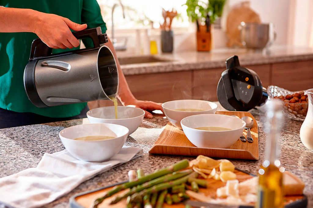 SoupMaker para preparar comida fácil