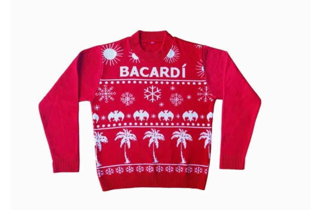 Bacardí te regalará un suéter este diciembre
