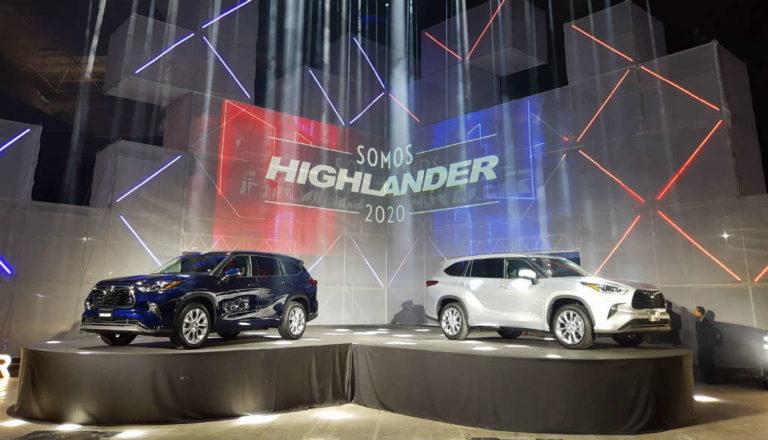 Toyota Highlander 2020: Precios y versiones