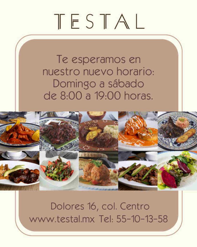 Restaurante Testal.