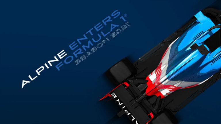 La escudería Alpine llega a la Fórmula Uno