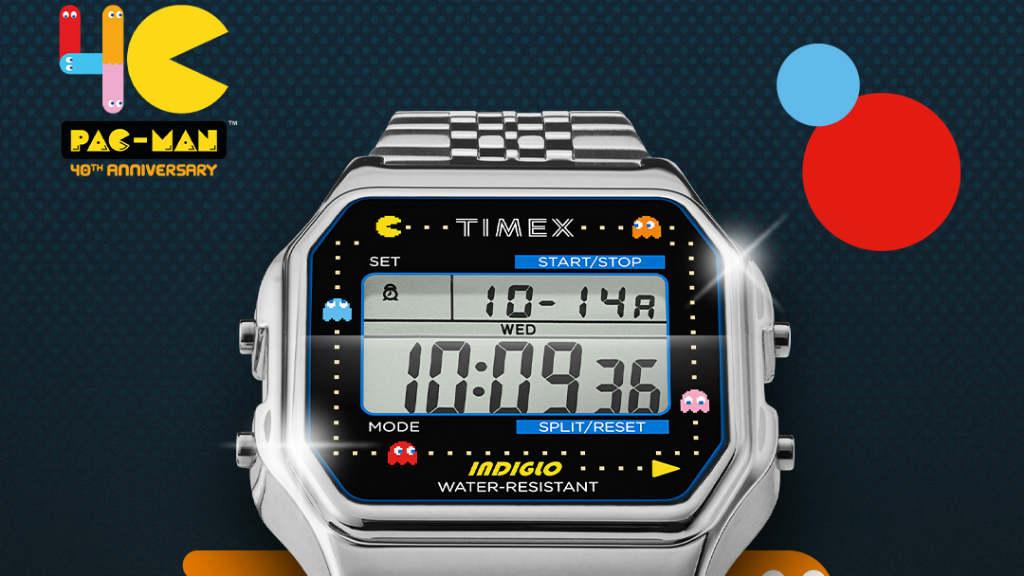 Carátula reloj Timex Pac-Man