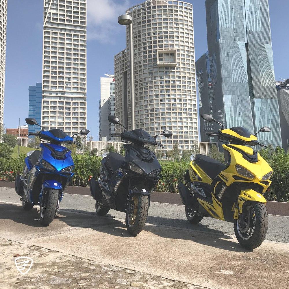 Ventajas de andar en moto
