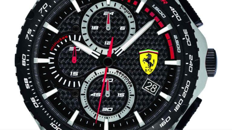 Pista, la nueva colección de Scuderia Ferrari