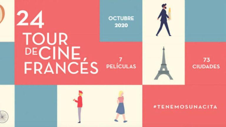 Oh la la; llega la edición 24 del Tour de Cine Francés a México