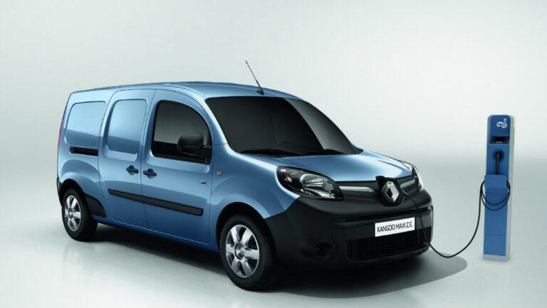 Kangoo Z.E., la era eléctrica de Renault