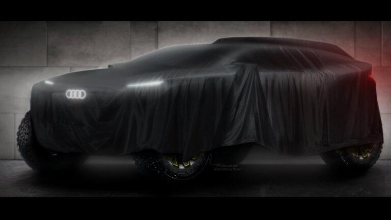 Audi tendrá presencia en el Rally Dakar