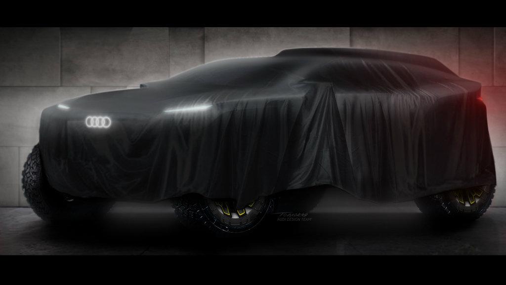 Audi entrará al Rally Dakar