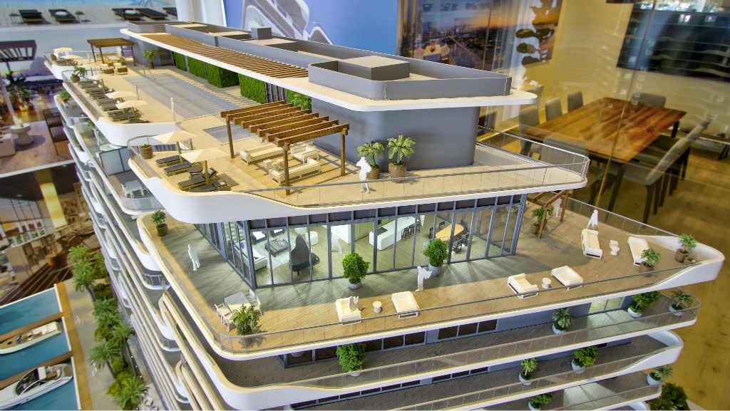 Monaco Yacht Club & Residences terraza
