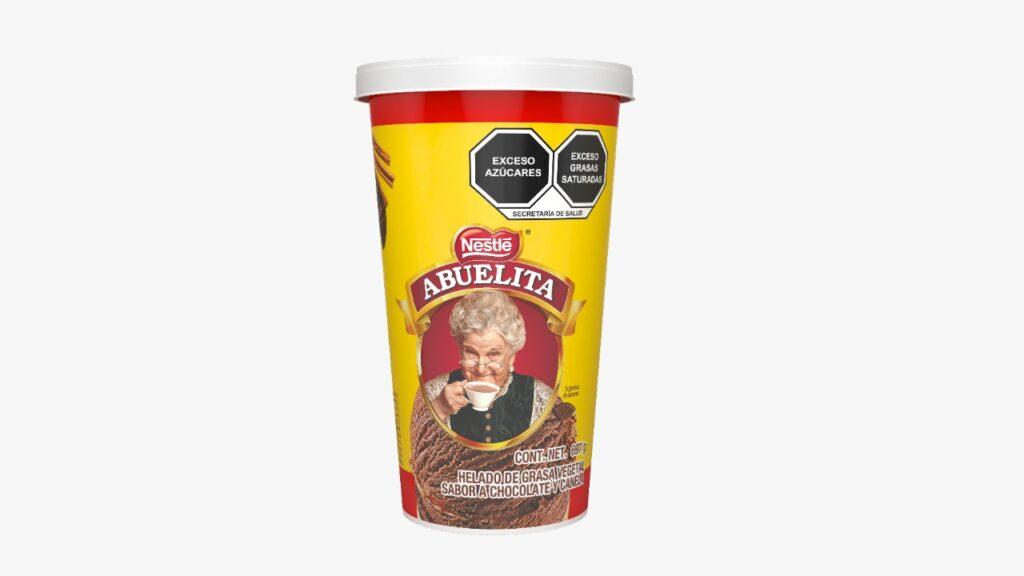 Chocolate Abuelita en helado