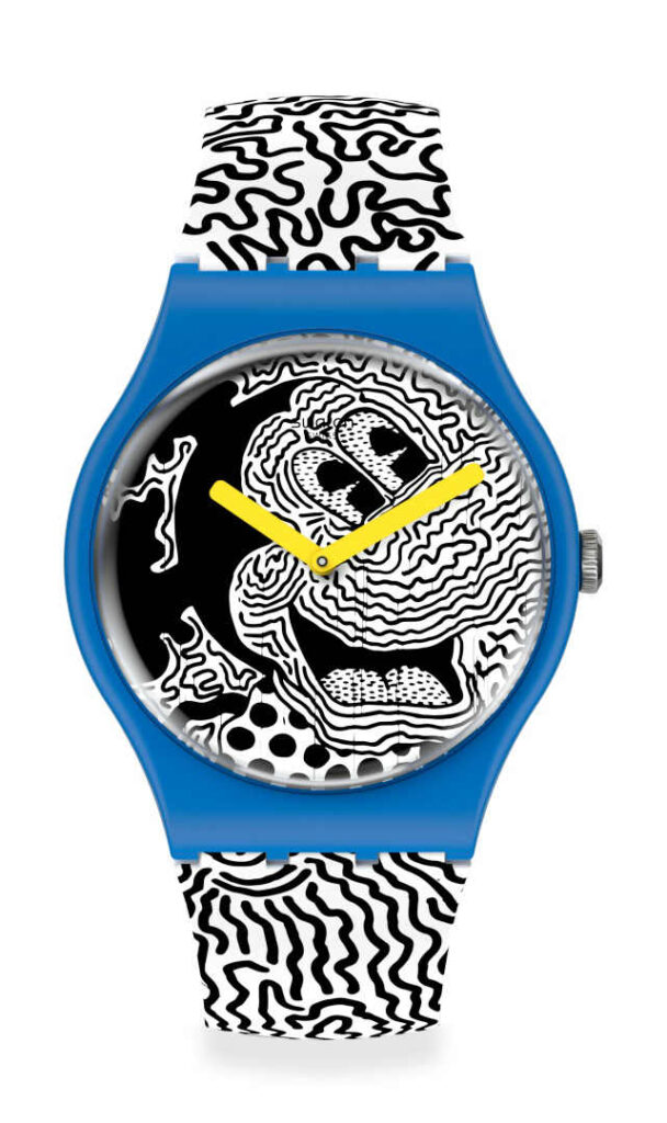 Mickey Mouse swatch