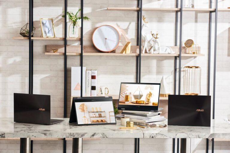 ZenBook Flip S OLED: La laptop más elegante de ASUS