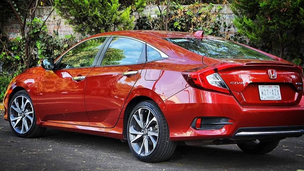 Honda Civic Sedán parte trasera