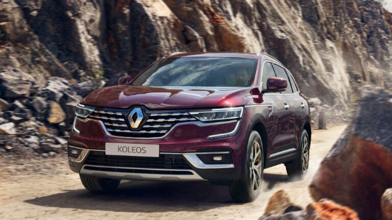 Renault Koleos 2021 se actualiza