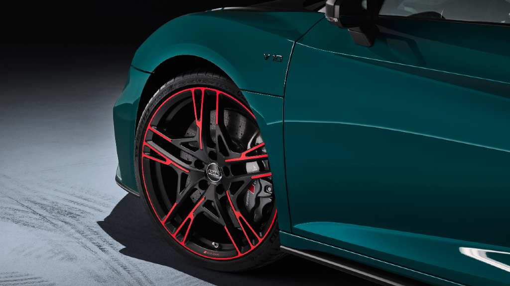 Audi R8 Green Hell rines