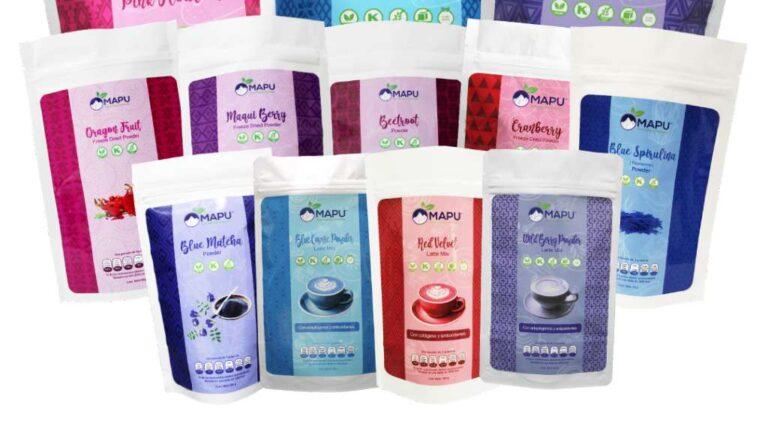 Antioxidantes Mapu, la marca mexicana que nació en la pandemia
