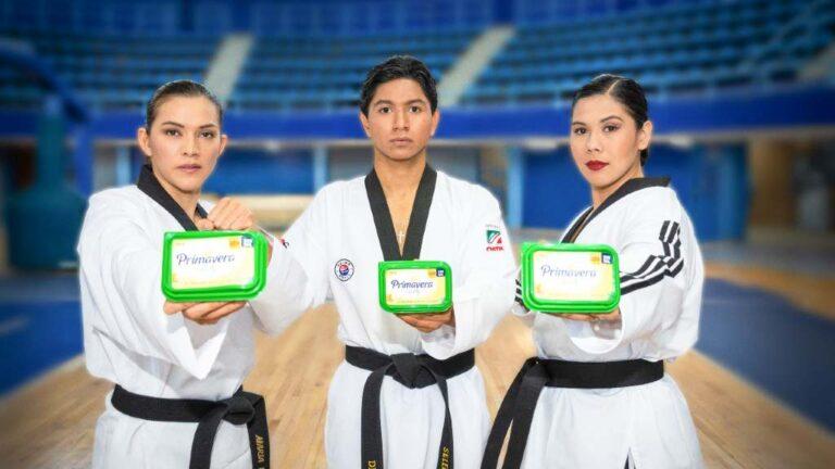 Upfield apoya a atletas mexicanos