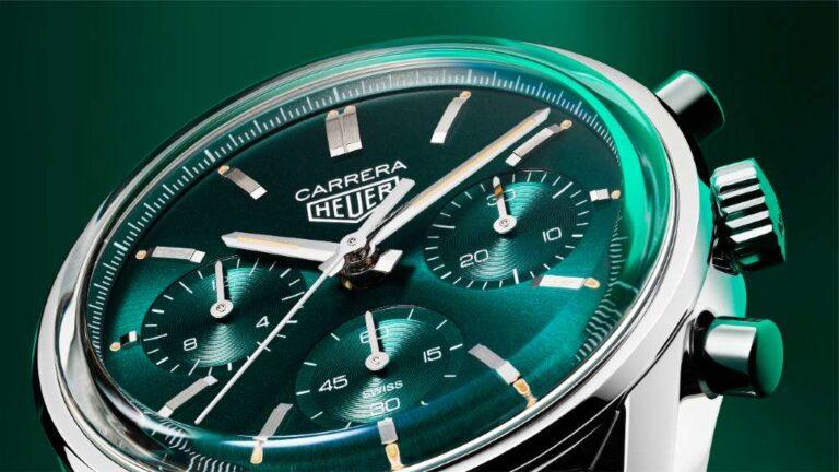 TAG Heuer Carrera se viste de verde