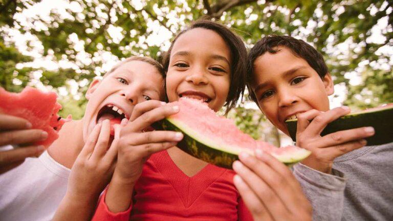 ¡Razones por las que los niños deben comer frutas!
