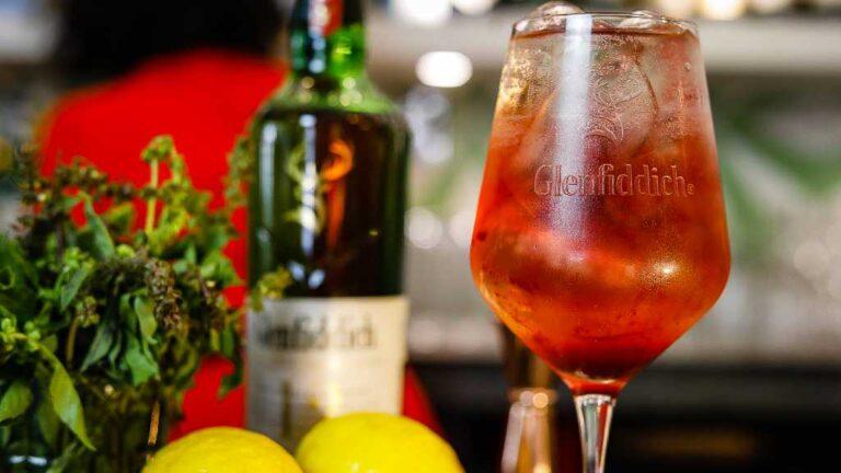 Cócteles con whisky Glenfiddich, exquisitos al paladar