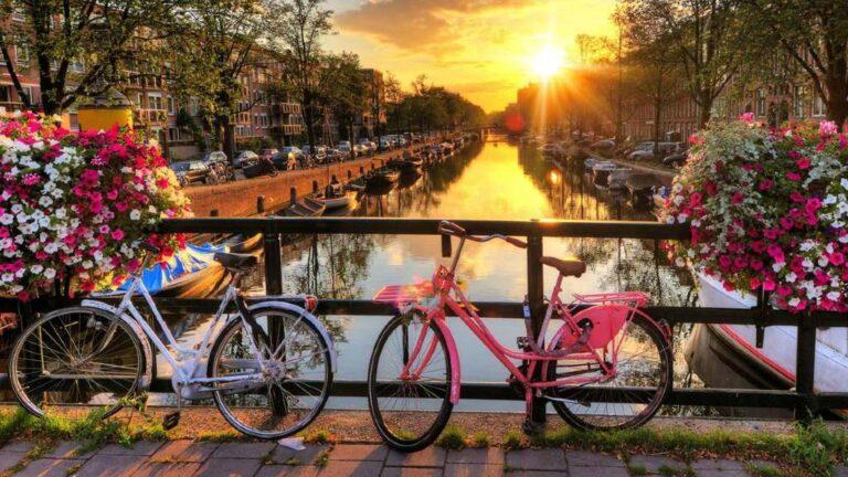 Ciudades para recorrer a pie o bicicleta